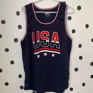 Other - 🔥30%OFF🔥EUC USA BLUE/RED/WHITE TANK TOP SIZE M